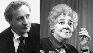 Фаина Раневская и Василий Иванович Качалов