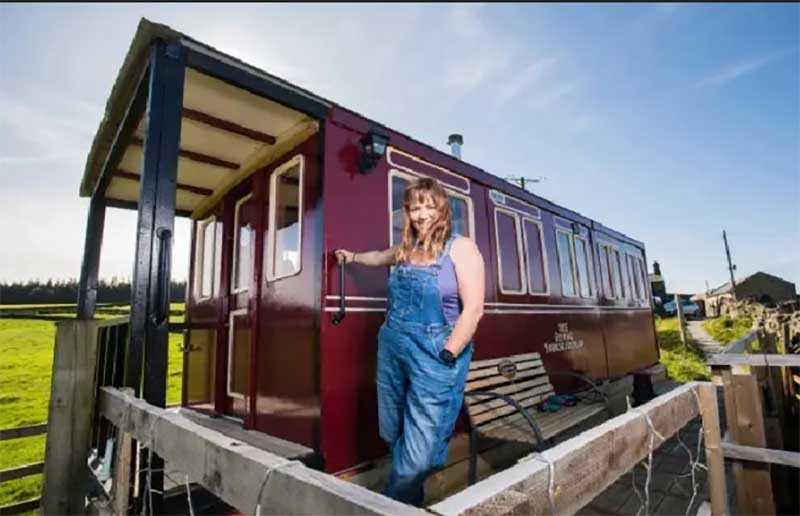 История девушки, которая построила вагон-гостиницу