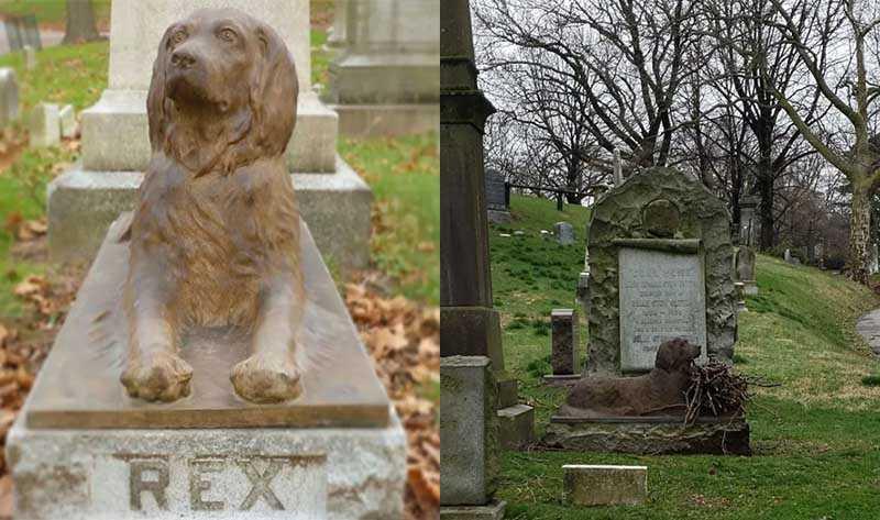 У всех жителей Бруклина Рекс с Грин-Вудского кладбища ассоциируется с самым верным другом человека.