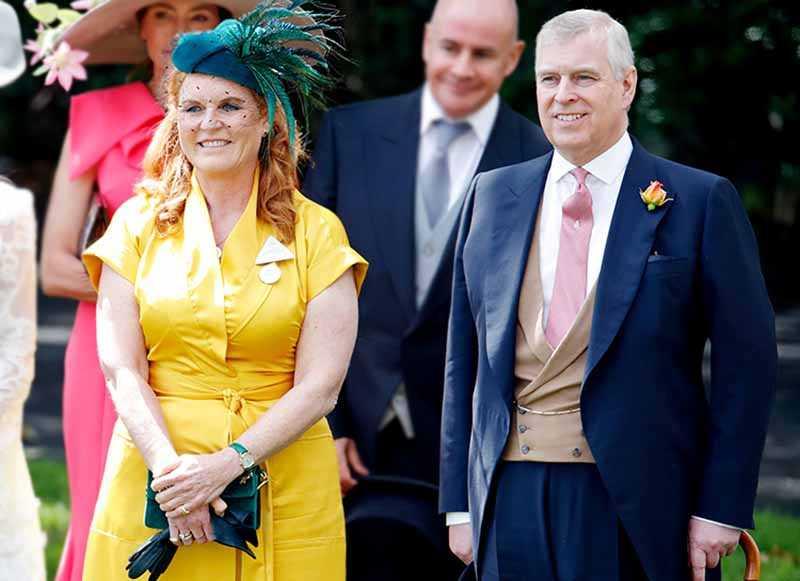 Эндрю и Сара называют себя самыми счастливыми разведенными супругами в мире.