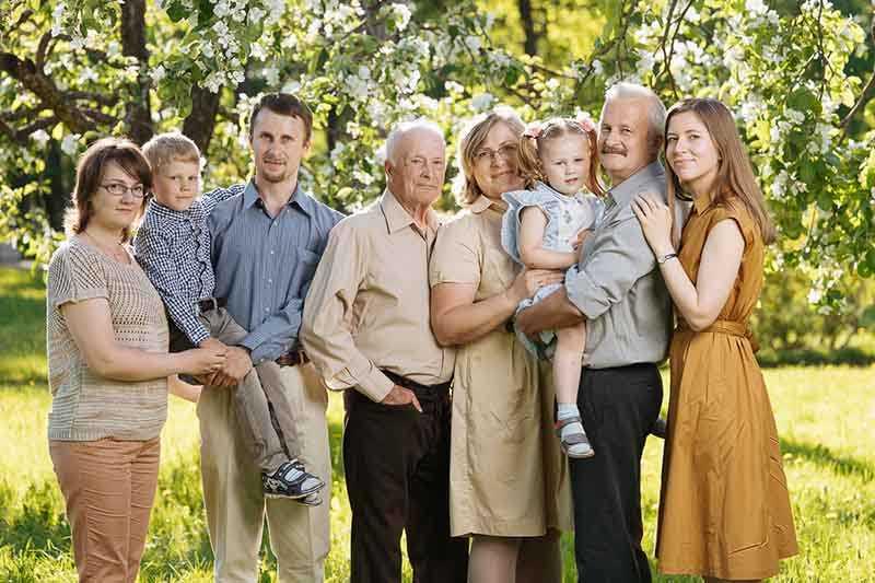 Степени и типы родства у русских людей