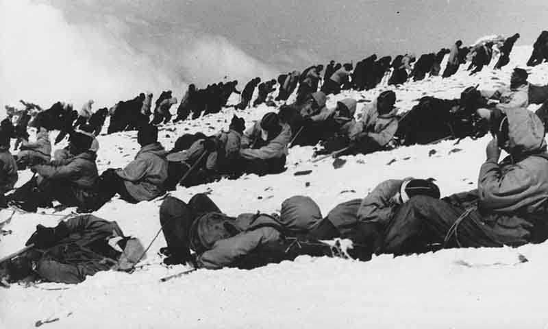Попасть в этот лагерь было невероятно крупным событием для любого альпиниста.