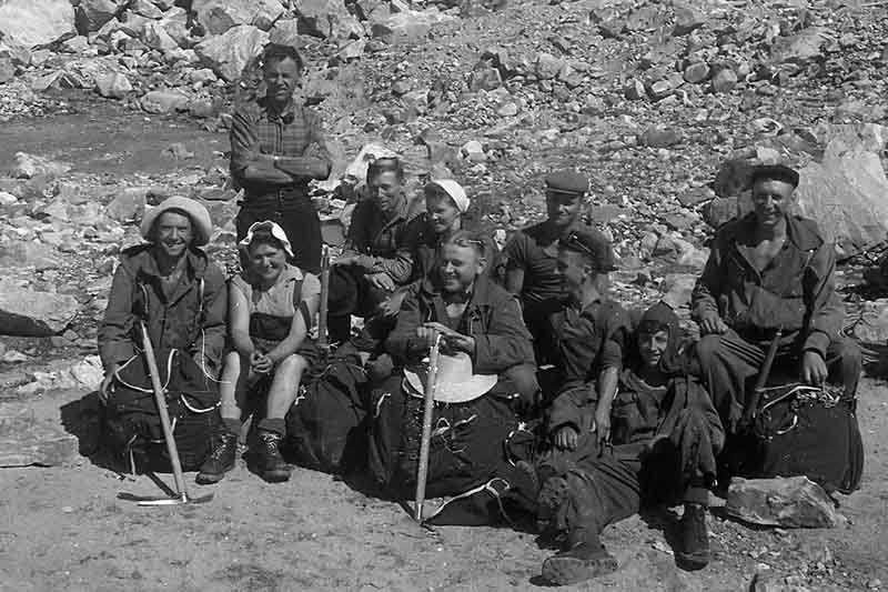 Зарождение альпинизма в Советском Союзе