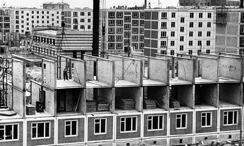 Советские архитекторы, которые разработали проект хрущевок, на самом деле «подсмотрели» эту идею на Западе.