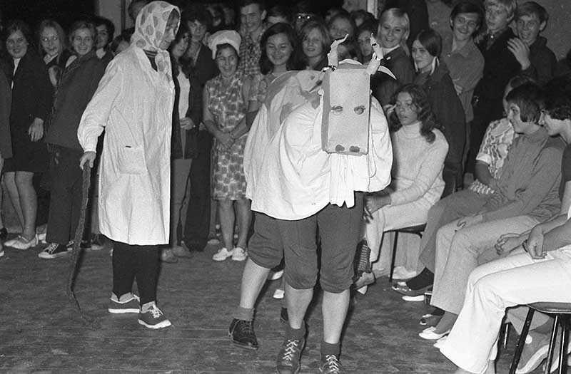 Развлечения советской молодежи