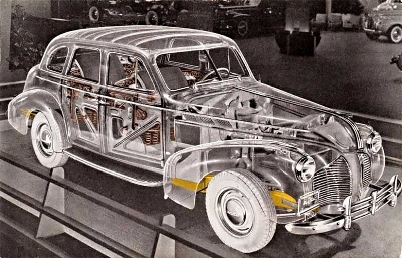 Прозрачный автомобиль-призрак – каким он был?