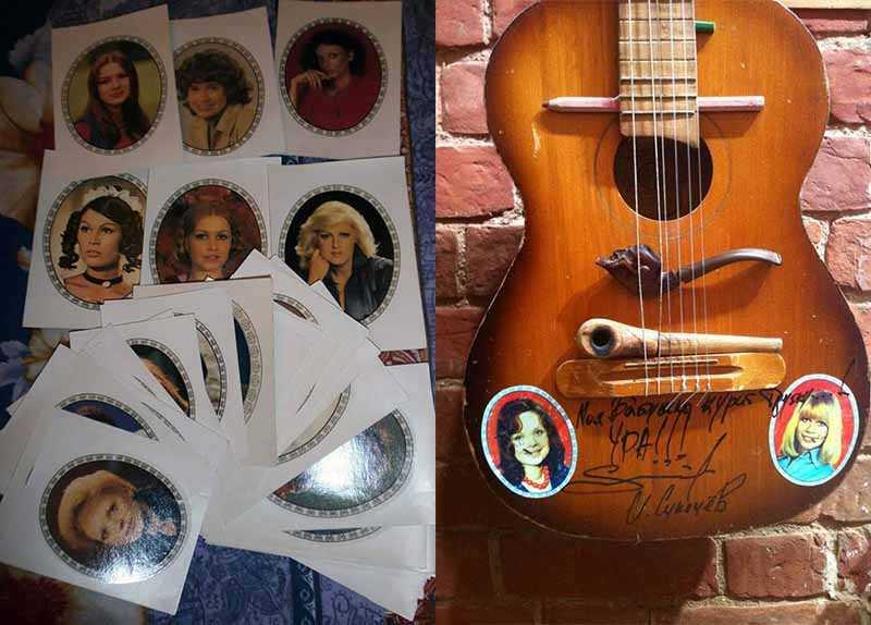 Такие популярные «переводки» на гитары
