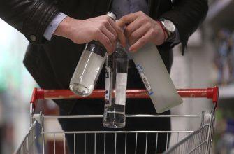 Количество употребляемой в России водки выросло на 2%
