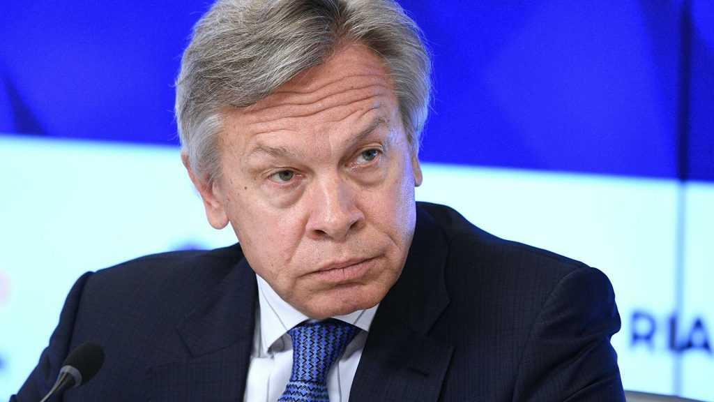 Алексей Пушков: НАТО развалится, если откажется от концепции «российской угрозы»