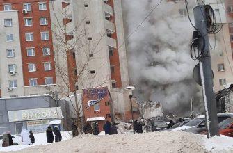 В одном из многоэтажных домов Нижнего Новгорода произошел мощный взрыв