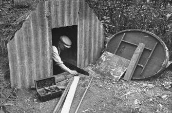 Как в Великобритании спасались от бомбежек при налетах немцев