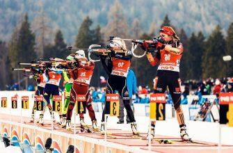 День гонок преследования: чемпионат мира по биатлону