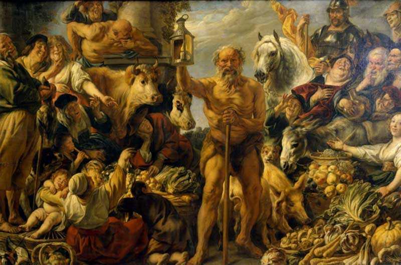 Диоген родился в 412 году.