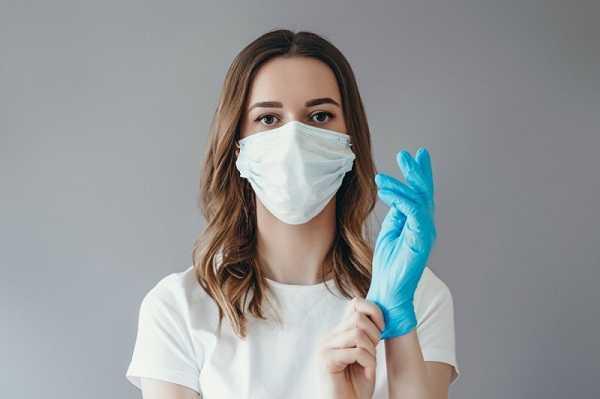 У ВОЗ отсутствуют ограничения по обязательному ношению перчаток