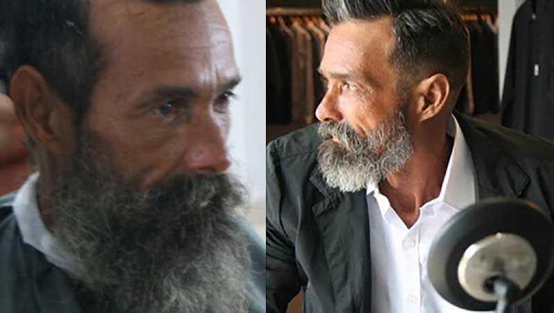 Посмотрев в зеркало, Жоао не узнал себя, это был совсем другой человек с новой прической, ухоженными красивыми усами и бородой.