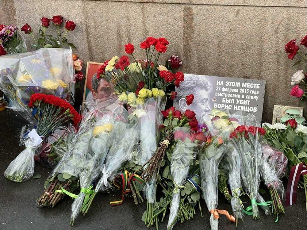 Московская акция памяти Бориса Немцова