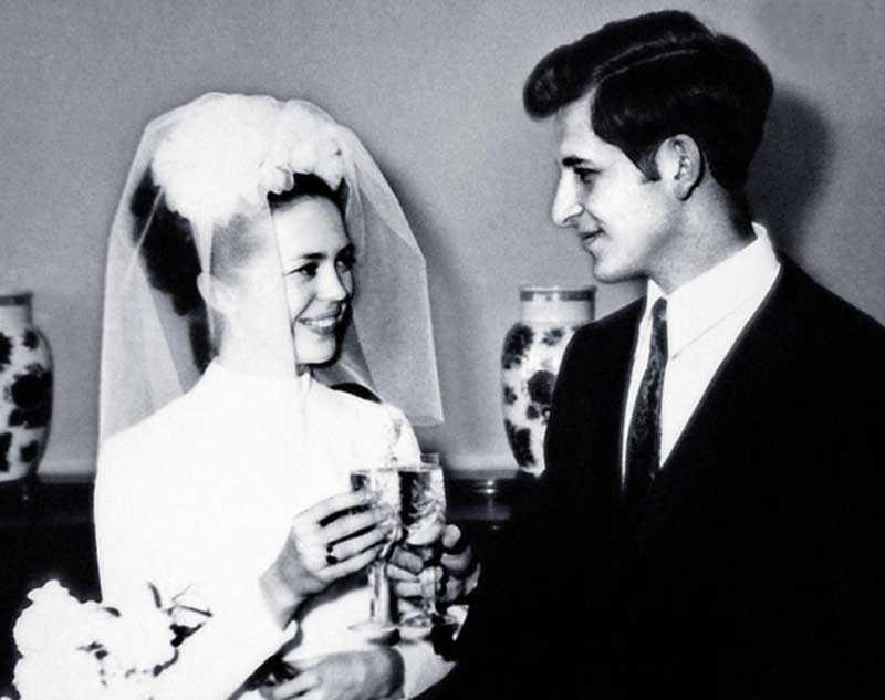 Первый раз Грачевский женился на Галине