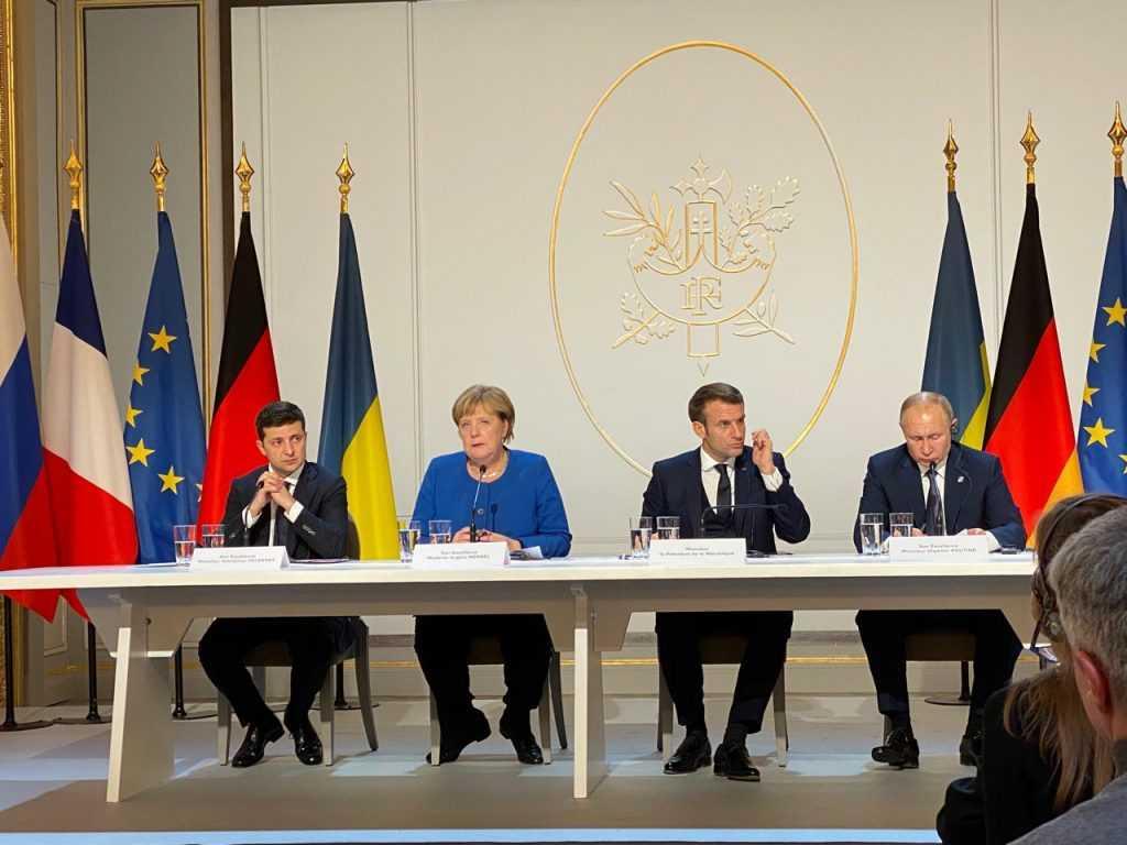 Украина заявила о прекращении Минских соглашений