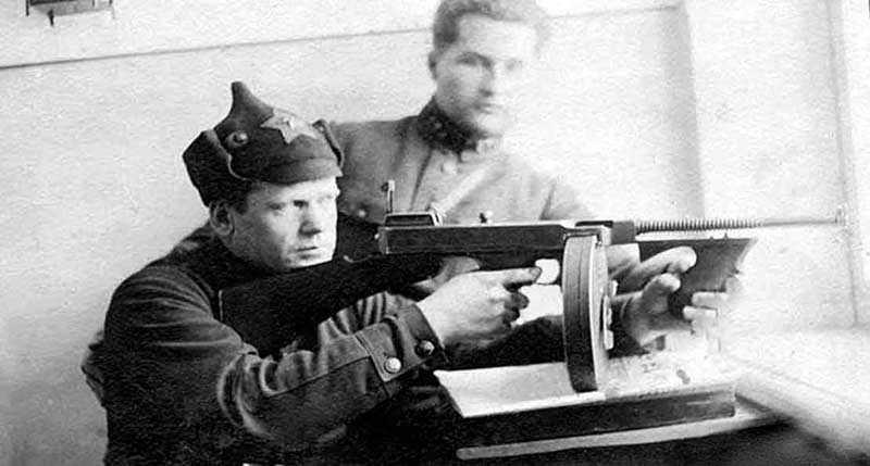 Использование мин большевиками и в период ВОВ