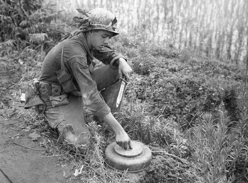 История создания и значение в военных сражениях противопехотной мины
