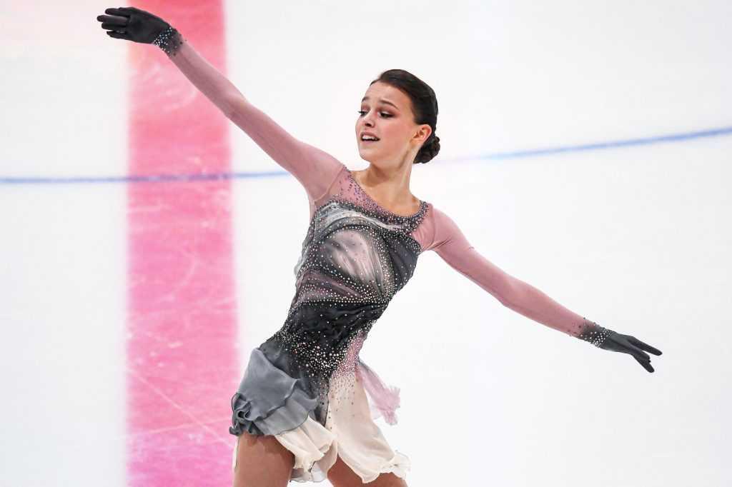 Анна Щербакова выиграла Чемпионат мира 2021 года по фигурному катанию