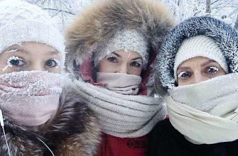 В Россию к выходным придут аномальные морозы