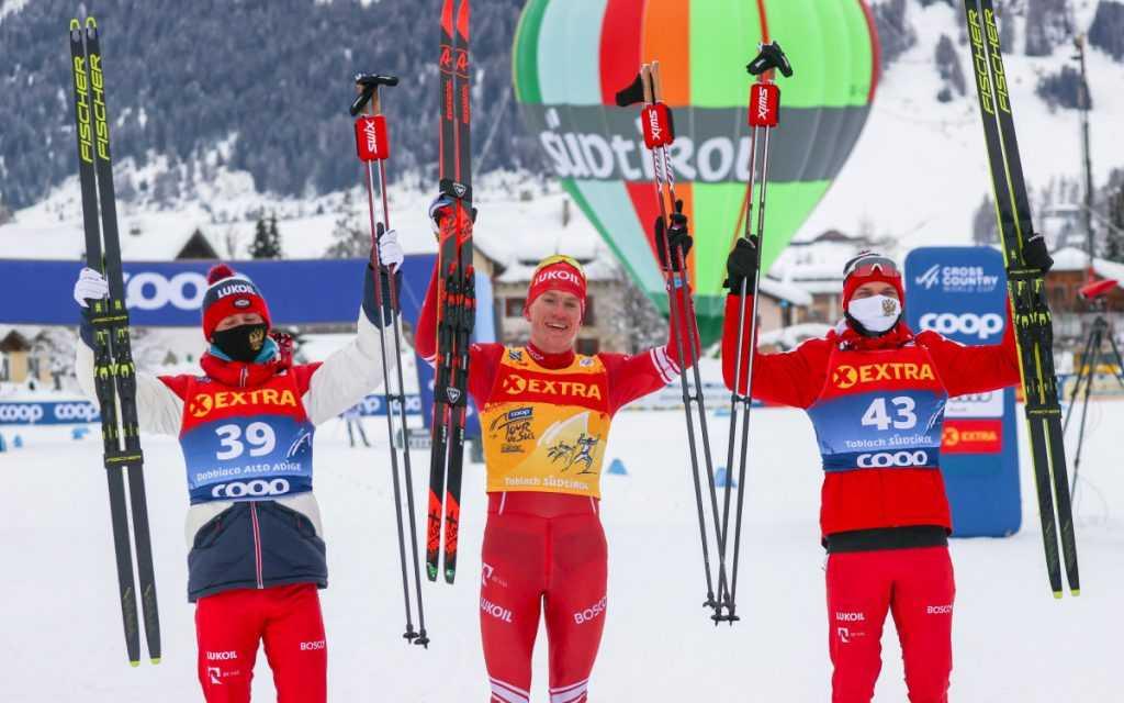 Российские лыжники завоевали бронзу на Чемпионате мира