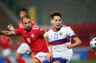 Сборная России по футболу уступила команде из Словакии на отборочных ЧМ-2022