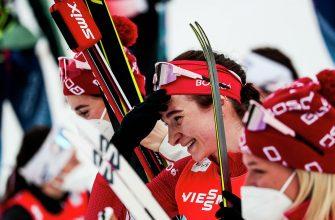 Российские лыжницы на ЧМ заняли второе место на эстафете