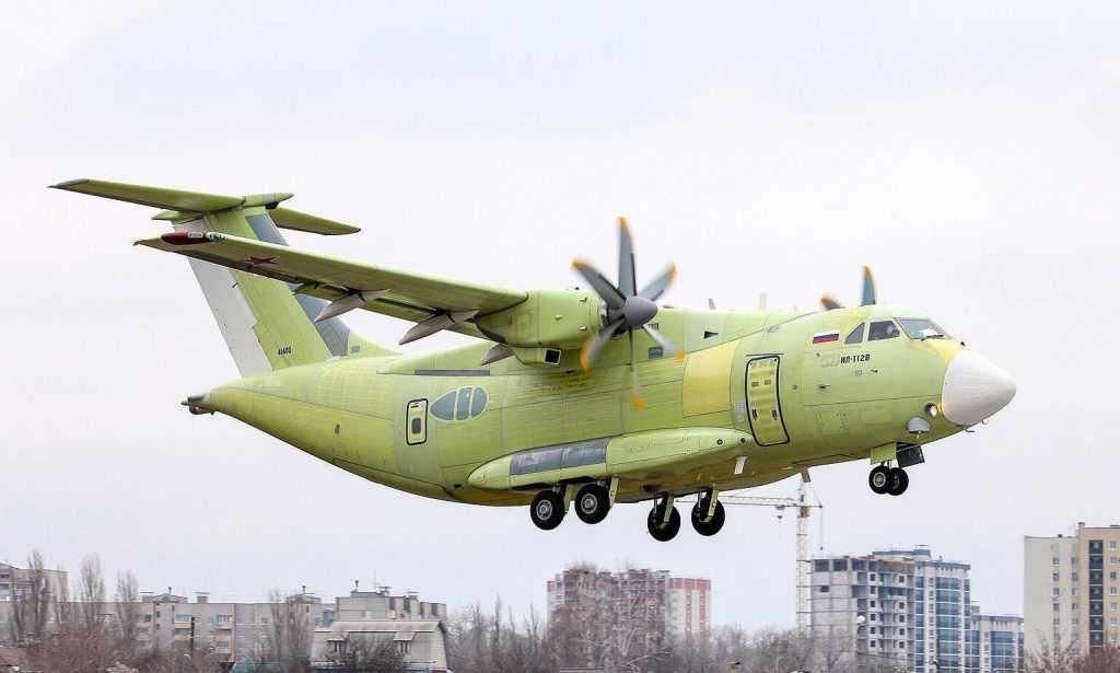 Ил-112 снова поднялся в небо