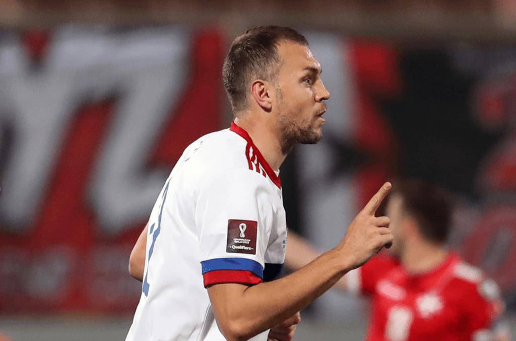 Сборная РФ по футболу обыграла Мальту в отборочных ЧМ-2022
