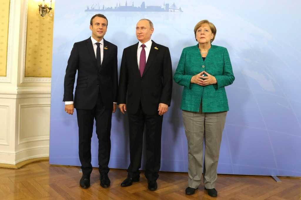 Видеоконференция России, Франции и Германии находится в процессе согласования