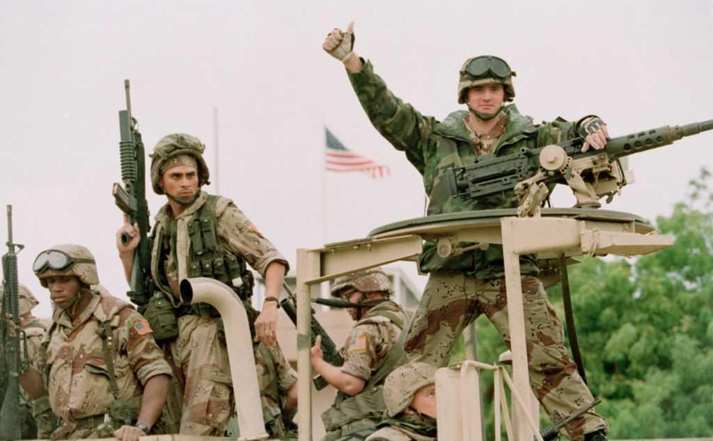 Американские ВВС провели очередные учения, смоделировав воздушные атаки по российским войскам