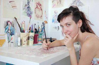 Уникальные работы сербской художницы: картины, нарисованные вином