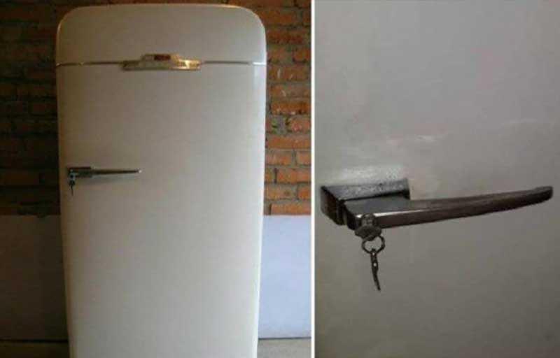 В таких холодильных камерах даже хранили ценные вещи