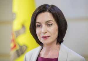 Президент Молдавии поблагодарила Россию за поставку вакцины «Спутник V»