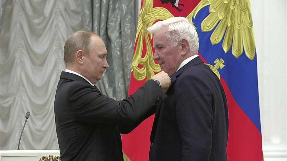 Пятеро россиян получили звание Героя Труда