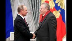 Жириновский получил орден «За заслуги перед Отечеством»