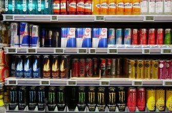 В России хотят ввести запрет на продажу энергетиков по всей стране