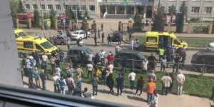 7 детей погибло при стрельбе в школе в Казани