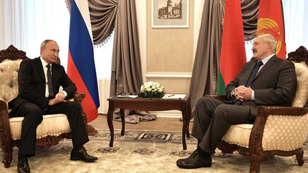Путин и Лукашенко встретились в Сочи