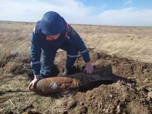 Два человека погибли на раскопках, подорвавшись на бомбе