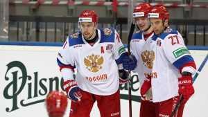Сборная России проиграла на Чешских хоккейных играх