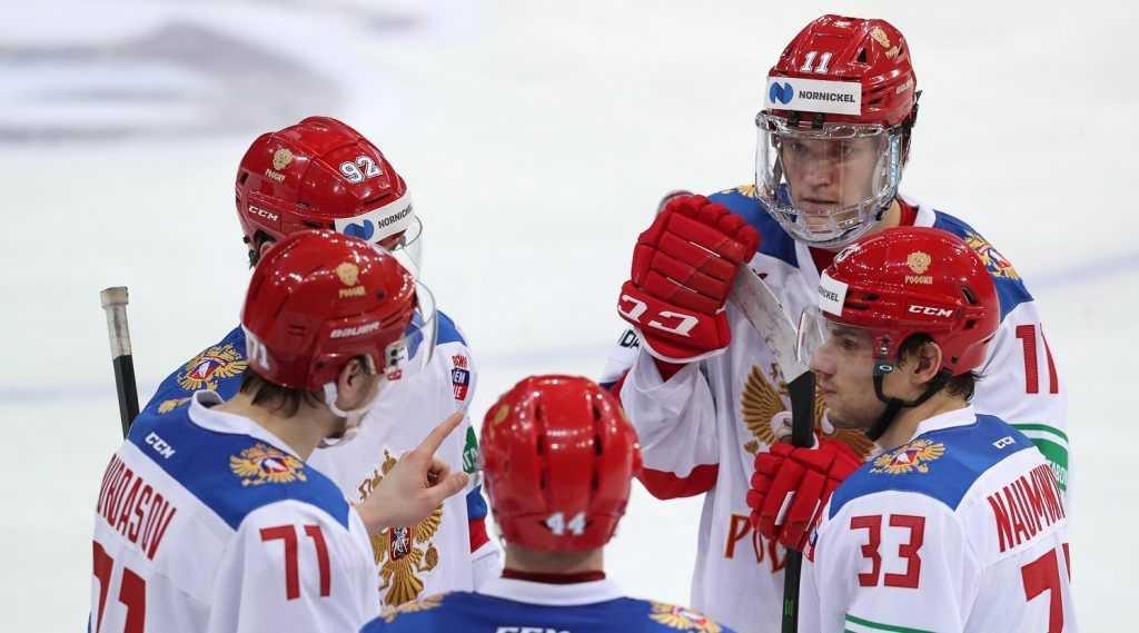 Сборная России оказалась на последнем месте на Чешских хоккейных играх