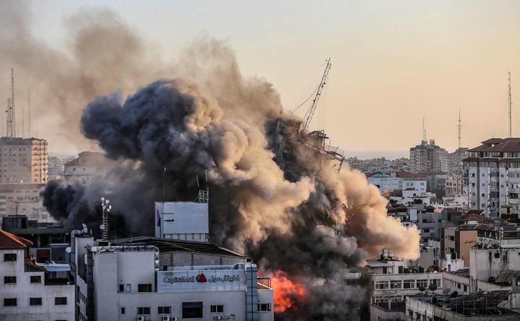 Кремль назвал обострение палестино-израильского конфликта опасным для России