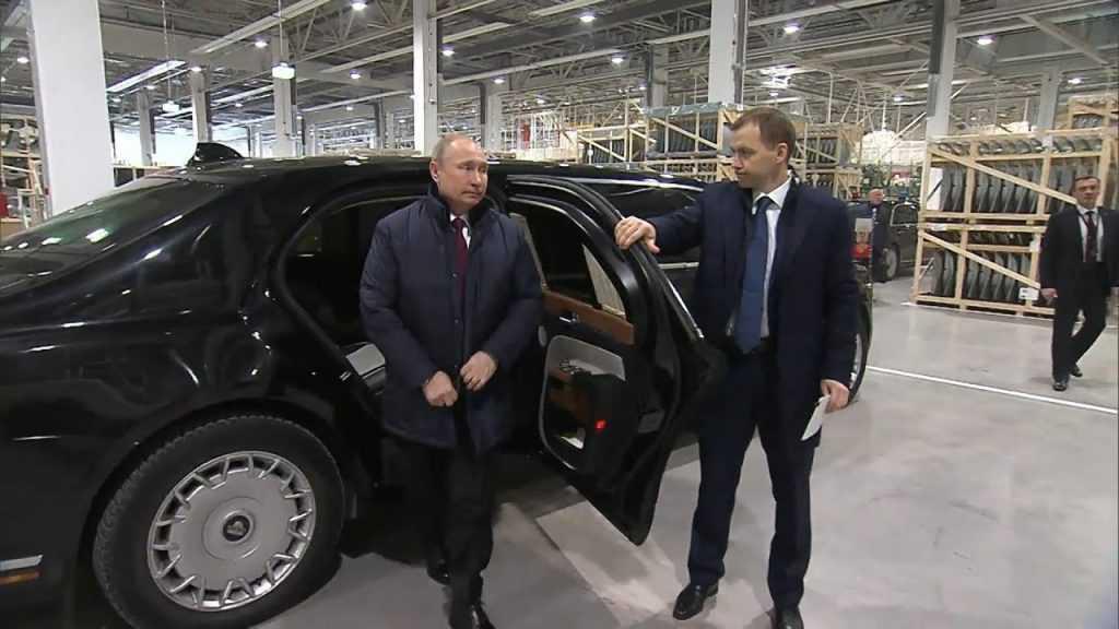 Путин будет участвовать в запуске завода Aurus