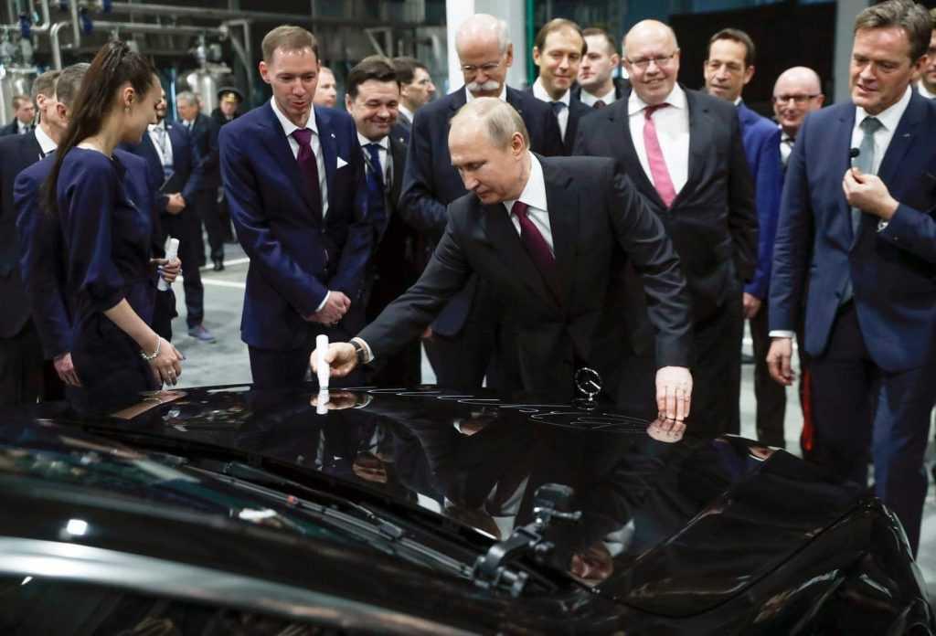 Путин примет онлайн-участие в запуске заводу Aurus в Татарстане