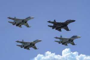 Воздушные парады проведут в четырех городах России
