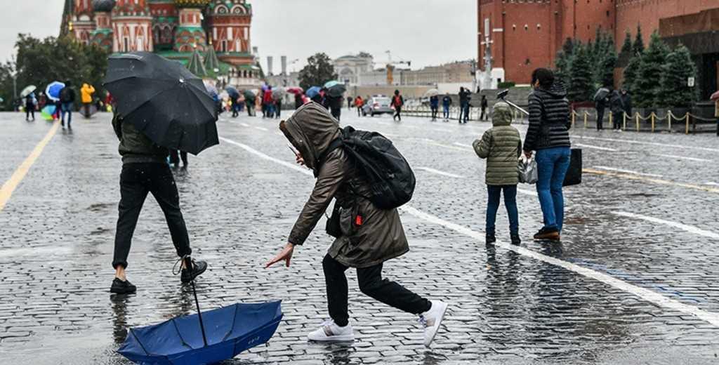 Желтый уровень погодной опасности объявили в Москве и области