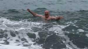 Путин отказался купаться с Лукашенко в Черном море